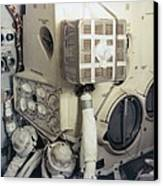 Apollo 13 Lunar Module And The Mailbox Canvas Print by Everett