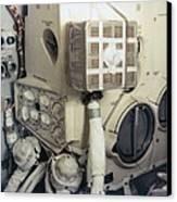 Apollo 13 Lunar Module And The Mailbox Canvas Print by Everett