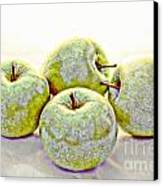 Apple Dust Canvas Print by David Taylor