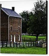 Appomattox County Jail Canvas Print by Teresa Mucha