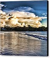 Approaching Storm Clouds Canvas Print by Douglas Barnard