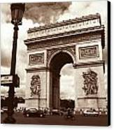 Arc De Triomphe Canvas Print by Kathy Yates