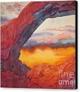 Arch Element Too Canvas Print by Vikki Wicks
