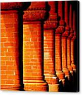 Archaic Columns Canvas Print
