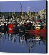 Ardglass, Co Down, Ireland Fishing Canvas Print