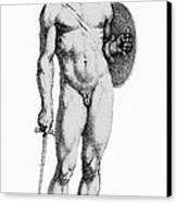 Ares, Greek God Of War Canvas Print