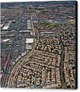 Arial View Of Las Vegas Canvas Print