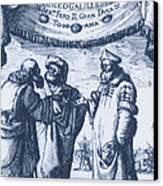 Aristotle, Ptolemy And Copernicus Canvas Print