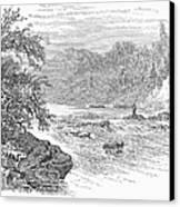 Arkansas: Ouachita River Canvas Print by Granger