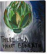 Artichoke Canvas Print by Linda Woods