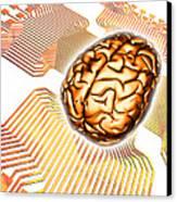 Artificial Intelligence, Computer Artwork Canvas Print