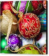 Assorted Beautiful Ornaments Canvas Print by Garry Gay