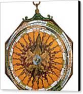 Astronomicum Caesareum With Dragon Canvas Print by Photo Researchers