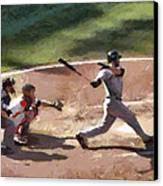 At Bat Canvas Print by Lynne Jenkins