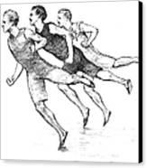 Athletics: Track, 1890 Canvas Print by Granger