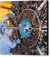 Atlas Detector, Cern Canvas Print