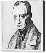 Auguste Comte, French Philosopher Canvas Print