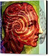 Auspicious Movement Of The Evolution Canvas Print by Paulo Zerbato