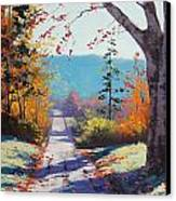 Autumn Delight Canvas Print by Graham Gercken
