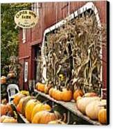 Autumn Farm Stand  Canvas Print