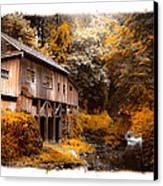 Autumn Grist Canvas Print by Steve McKinzie