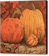 Autumn Harvest Canvas Print by Peggy McMahan