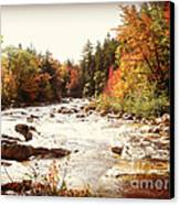 Autumn In New Hampshire Canvas Print by Crystal Joy Photography