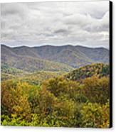 Autumn In Shenandoah National Park Canvas Print by Pierre Leclerc Photography