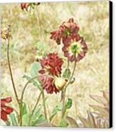 Autumn In The Garden  Canvas Print by Pamela Patch