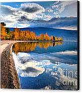Autumn Reflections In October Canvas Print