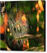 Autumn Web Canvas Print by Sarai Rachel