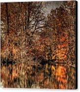 Autumn's End Canvas Print
