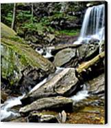 B Reynolds Falls Canvas Print by Frozen in Time Fine Art Photography
