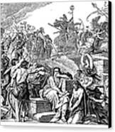 Babylonian Captivity Canvas Print by Granger
