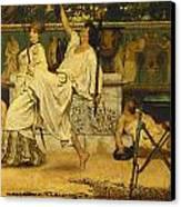 Bacchanal Canvas Print by Sir Lawrence Alma-Tadema