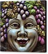 Bacchus God Of Wine Canvas Print