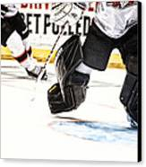Back To The Crease Canvas Print