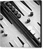 Backgammon Canvas Print by Joana Kruse