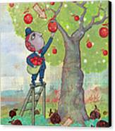 Bad Apples Good Apples Canvas Print