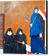 Bahraini Women Canvas Print by Andrea Friedell