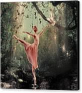Ballerina Canvas Print by Lee-Anne Rafferty-Evans