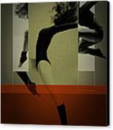 Ballet Dancing Canvas Print by Naxart Studio