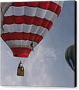 Balloons Over Readington Canvas Print by Pat Abbott