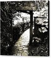 Bamboo Garden - 1 Canvas Print