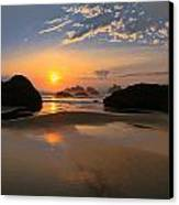 Bandon Scenic Canvas Print by Jean Noren