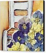 Barbara's Chair Canvas Print by Regina Ammerman