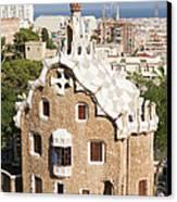 Barcelona Parc Guell Canvas Print
