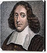 Baruch Spinoza (1632-1677) Canvas Print
