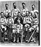 Baseball: Canada, 1874 Canvas Print by Granger