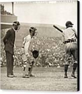 Baseball Game, 1908 Canvas Print by Granger